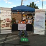 The Eviction Center Booth at Hemet Harvest Festival Oct 25, 2014